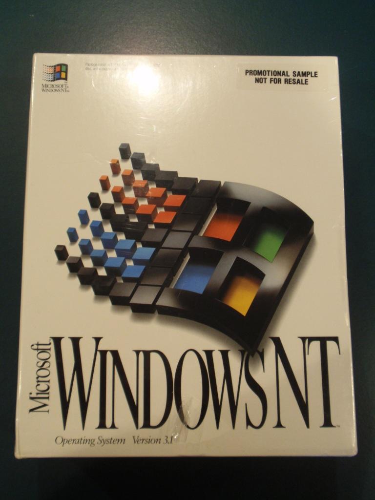 Microsoft Windows Nt 3 1